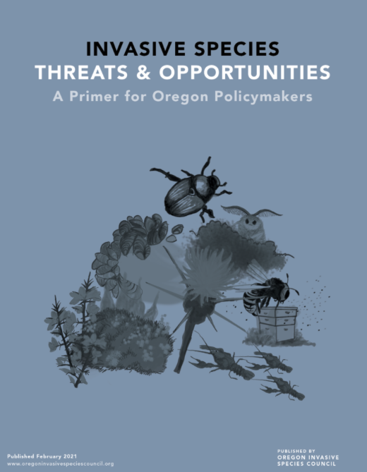cover of primer on invasive species threats and opportunities