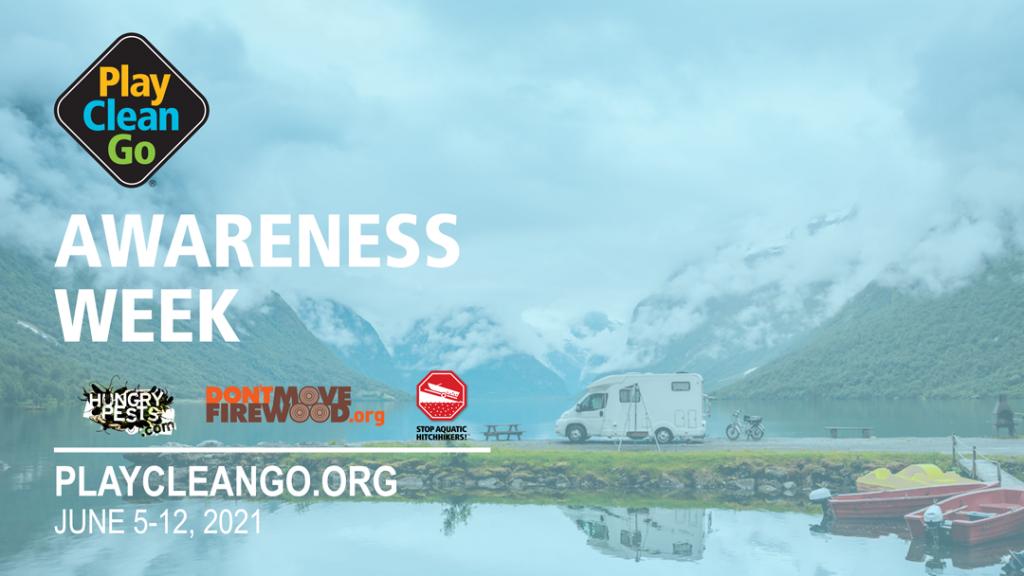 PlayCleanGo Awareness Week graphic
