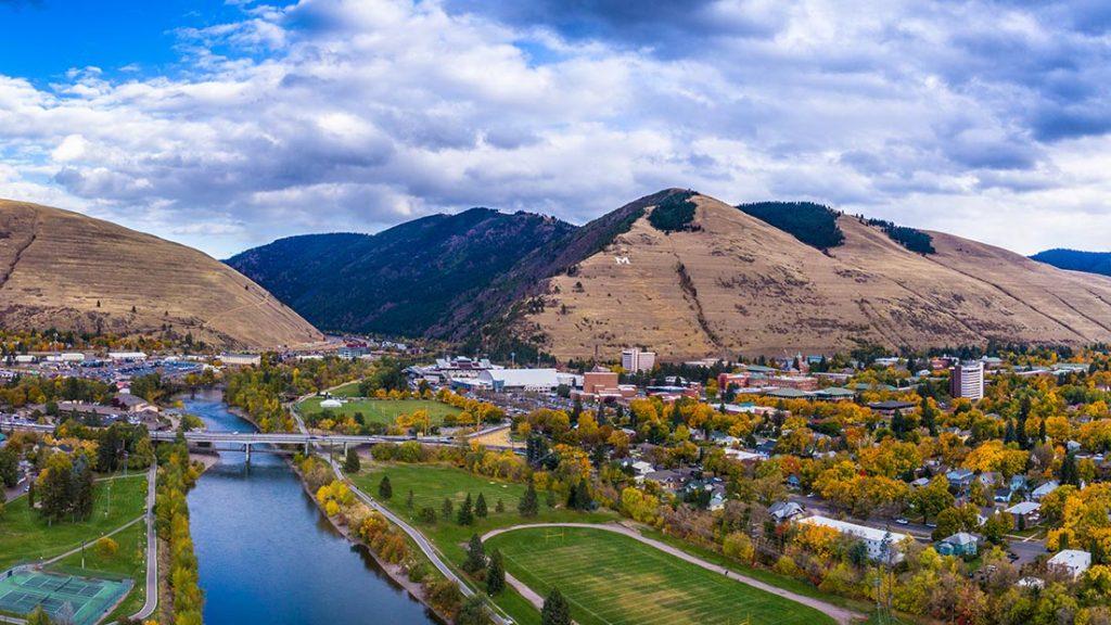 Missoula, Montana mountains
